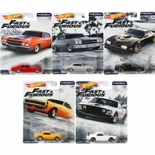 Fast & Furious 1/4 Mile Muscle | Hot Wheels Premium Car Set | Coche Mattel GBW75