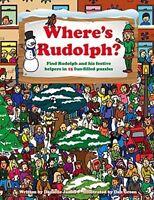 """NEW"" Danielle James, Where's Rudolph?, Book"