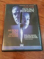 Double Jeopardy (DVD, Widescreen 2000) Ashley Judd, Tommy Lee Jones Used