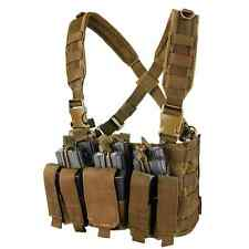 Condor MCR5 COYOTE MOLLE Rapid Assault Chest Rig w/Rifle & Pistol Magazine Pouch