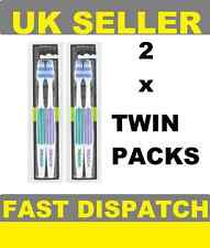 2 x Reach Interdental Toothbrush FIRM Full Head (2 x Twin Packs) 4 Brushes