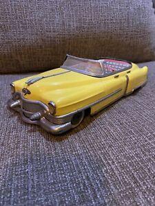 "Vintage Gama Cadillac Convertible Tin Toy Car 12"""