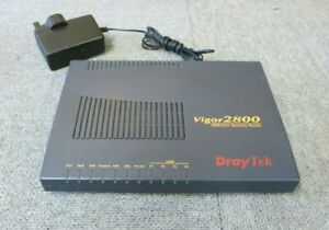 DrayTek Vigor2800 (Annex A) 4 Ports ADSL2/2+ Security Router And AC Adapter