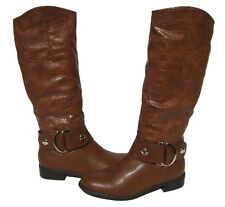 Women's Riding Boots Brown Knee High Riding Shoes Winter Snow Ladies size 6