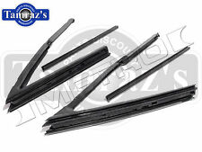 64-65 GM A Body Vent Window Weatherstrips Seal Hardtop / Convertible New