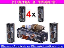 BERU  X TITAN- 4x Zündkerzen-FIAT  127 128 130 131 132 1500 238 DUCATO ARGENTA