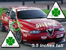 Alfa Romeo corse clover decals sticker scuderia