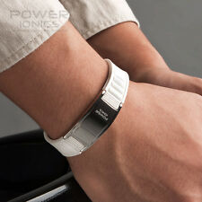 Titanium Magnetic Power 2000 Ionic Bracelet Band Balance w/ Retail Box Free Ship
