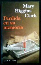 PERDIDA EN SU MEMORIA - Mary Higgins Clark - LIBRO / BOOK - Circulo De Lectores