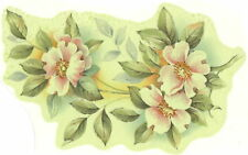 Ceramic Decals Pink Dogwood Floral Group  5.25 inch