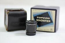 TOPCON RE SUPER SUPER D DM CAMERA 2.5X MAGNIFIER