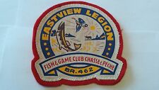 Royal Canadian Legion, Eastview Br. 462, Fish and Game Club Vintage Patch