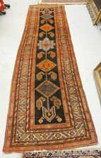 ANTIQUE ORIENTAL RUNNER MEASURING 10 FT 9 INCHES X 2 FT 11 INCHES. Lot 1077