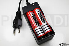 .CHARGEUR RX-77 + 2 PILES ACCU RECHARGEABLE 18650 3.7v 4200mAH BATTERY BATTERIE