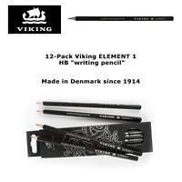 """12 Pack Viking Element 1 HB """"writing pencil"""" - Made in Denmark since 1914"""