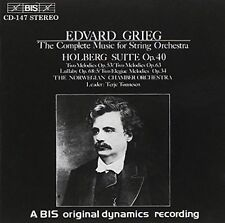 GRIEG: COMPLETE MUSIC FOR STRING ORCHESTRA (NEW CD)