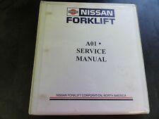 Nissan A01 Forklift Service Manual