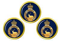 Hertfordshire Régiment, Armée Britannique Marqueurs de Balles de Golf