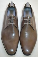"John Lobb Paul Smith ""Willoughby"" Leather Pebble Grey Shoes UK 6.5 US 7.5 New"