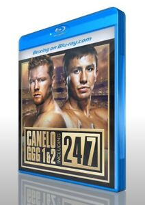 Saul Alvarez vs. Gennady Golovkin I & II on Blu-ray