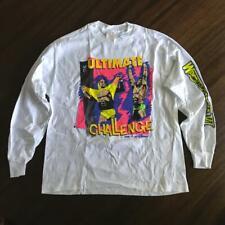 Vintage WWF WWE Wrestlemania VI 6 Long Sleeve Tee Shirt Size L Mint Never Worn