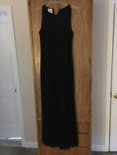 Long Black Beaded Gown Sean Collection