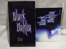 Black Dahlia (PC, 1997) Paper fold and game, tested, fast shipping