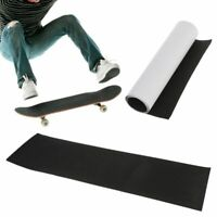 Black Skateboard Deck Sandpaper Grip Tape Longboard Skating Board Longboarding