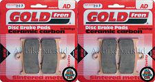 Victory 1731 Hammer Front Sintered Brake Pads 2009 Onwards - Goldfren