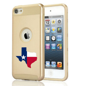 For Apple iPod Touch 5th 6th Shockproof Hard Case Cover Texas