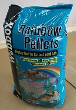 More details for webbox fish rainbow pond pellets 10kg - free ups next day delivery