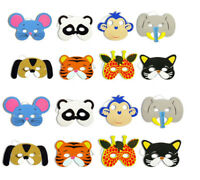 Child Cosplay Masks 12PC Animal Pattern Fresh Party Costume Props Fancy Dress