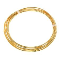 Bead Craft Wire Gilt on Copper for Jewellery Making 1.50mm - 1.75 Metres (C68/8)