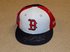 Mookie Betts 2018 All Star Game Signed Cap Hat Boston Red Sox MVP
