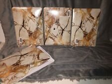 MacBook Pro 12 in CASE COVER, Gold Marble- Protection, Hard Case
