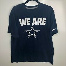 Nike T-Shirt Men's XL Blue Dallas Cowboys We Are Tee Football NFL