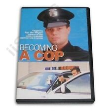Becoming a Cop Training Dvd Police Swat Law Enforcement Testing Prep Course New!