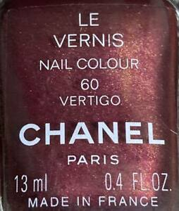 Chanel nail polish 60 VERTIGO rare limited edition VINTAGE