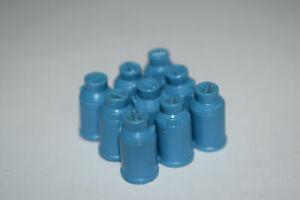 Tomte Laerdal blaue Milchkannen blue Milkbottle, ca. 1965 Ladegut     TOP