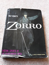 Walt Disney's ZORRO. Annual. Daily Mirror Book. 1959. VINTAGE. Good