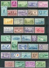 USA 1950-1957 8 YEAR-SET  SC# 987 / 1099 VINTAGE POSTAGE STAMP MNH