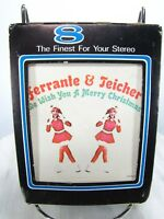 CHRISTMAS MUSIC 8-TRACK TAPE - Ferrante and Teicher - WISH YOU A MERRY X-MAS
