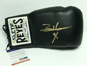Bernard Hopkins Singed Black Cleto Reyes Boxing Glove *The Executioner PSA
