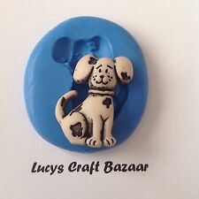 Silicone Mould Dog 1 Puppy Sugarcraft Flowerpaste Soap Jewellery Sculpey Fondant