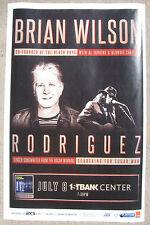 Brian Wilson of The Beach Boys 2015 Colorado Concert Flyer Original 11x17 Poster