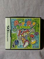 Puyo Pop Fever Manual Artwork & Case ONLY (Nintendo DS, 2004) **NO GAME**