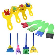12Pcs Kids Paint Brushes Sponge Painting Brush Tool Set for Children Toddler Toy