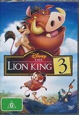 Disney The Lion King 3 DVD NEW Region 4