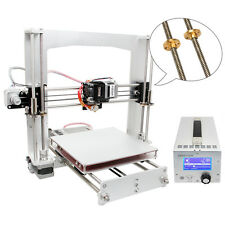 2017 upgraded Geeetech 3D Printer Prusa i3 A Pro with safer 3 in 1 Box Free ship