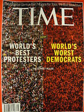 TIME MAGAZINE 22ND JULY 2013 - EGYPT - THE STREET RULES